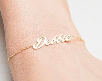 Signature Bracelet Handwriting Bracelet Personalized от capucinne