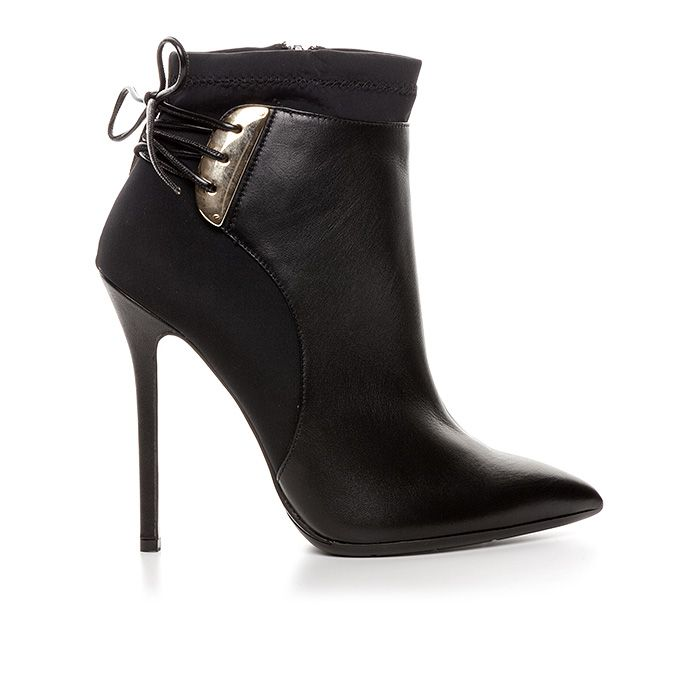 120408_BLACK LEATHER www.mourtzi.com #wearblack #mourtzi #booties #ankleboots #designershoes