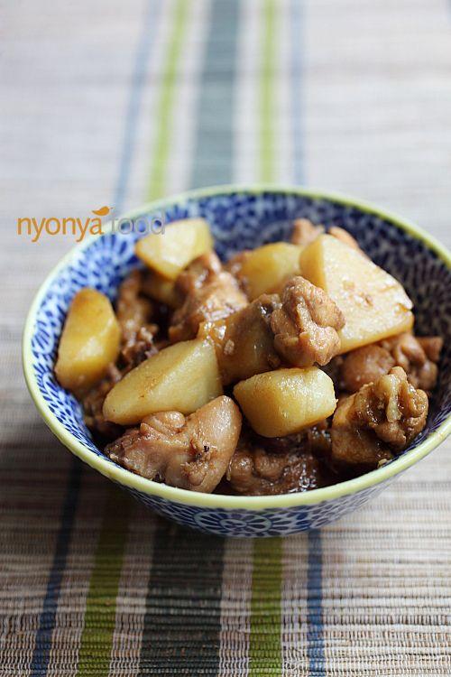 Chicken stew with potato Recipe   Easy Asian Recipes http://rasamalaysia.com