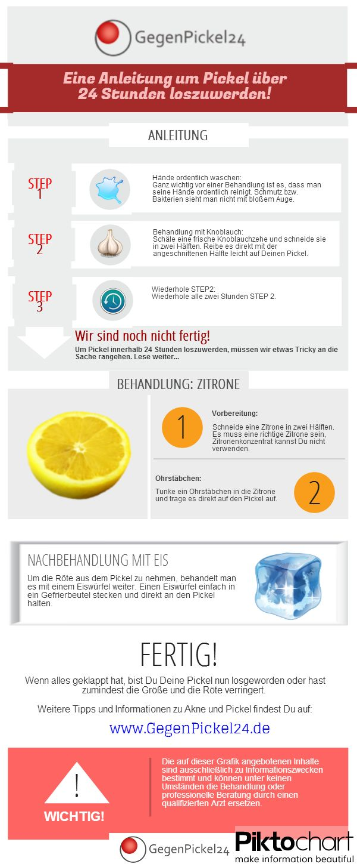 In diesem Pin sieht man, wie seine Pickel loswerden kann. Dies ist als eine kleine Anleitung zu verstehen. Mehr dazu auf: http://www.gegenpickel24.de