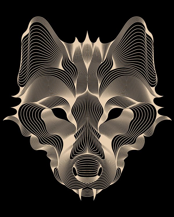 Loup by Patrick Seymour, via Behance | Illustration ...