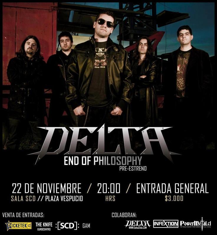 """22 de Noviembre: Lanzamiento Delta """"End Of Philosophy"""""""