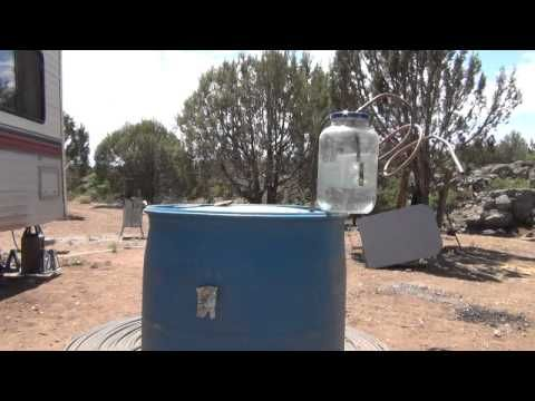 Methane digester P#1 - YouTube