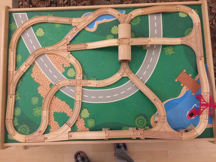 Thomas The Train Track Layout Plans