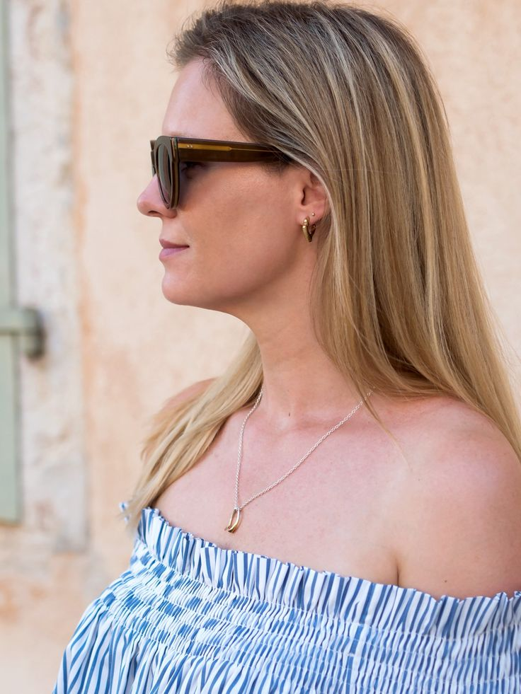 Vikki Style Minimalism | Felice Dahl Style | Första Earrings + Ljus Pendant Necklace
