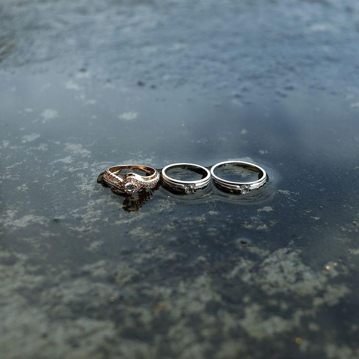 Wedding ring from the wedding of Isma+Icak