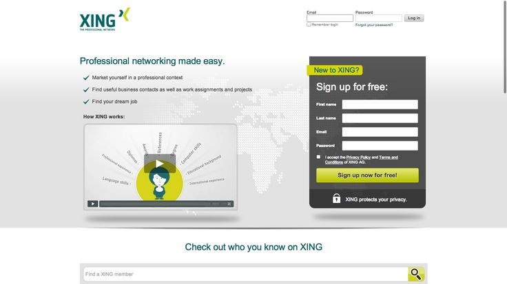 XING - The professional network | XING