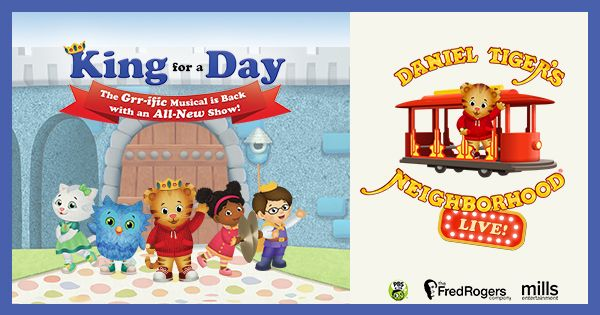 A New Giveaway! Enter to WIN Tickets to see Daniel Tiger LIVE! King for a Day in Norfolk! #spon ----> http://hamptonroads.myactivechild.com/blog/tickets-to-daniel-tigers-neighborhood-live/
