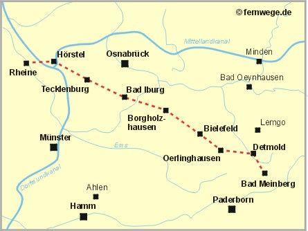 hermannsweg | Wanderführer: Der Hermannsweg im Teutoburger Wald