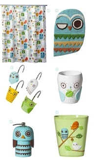 I want an owl bathroom. Target has tons of owl stuff. Bless them.