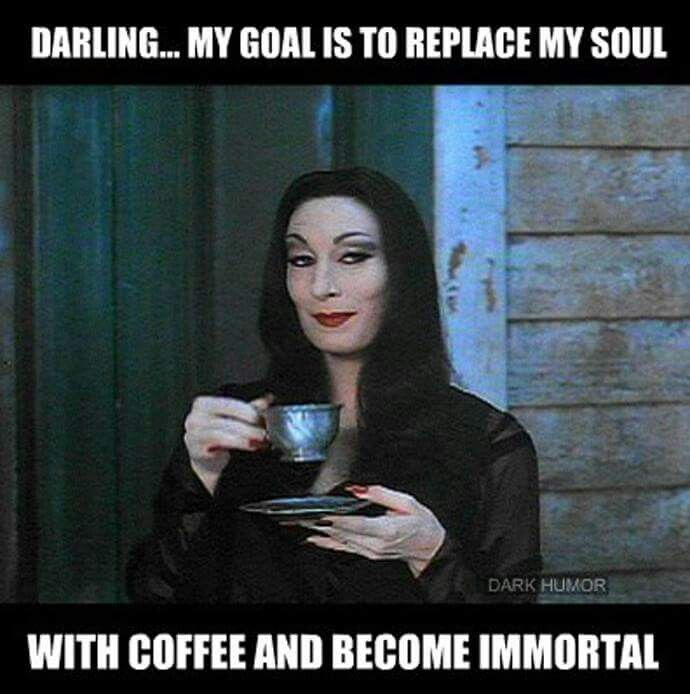morticia and gomez relationship goals football