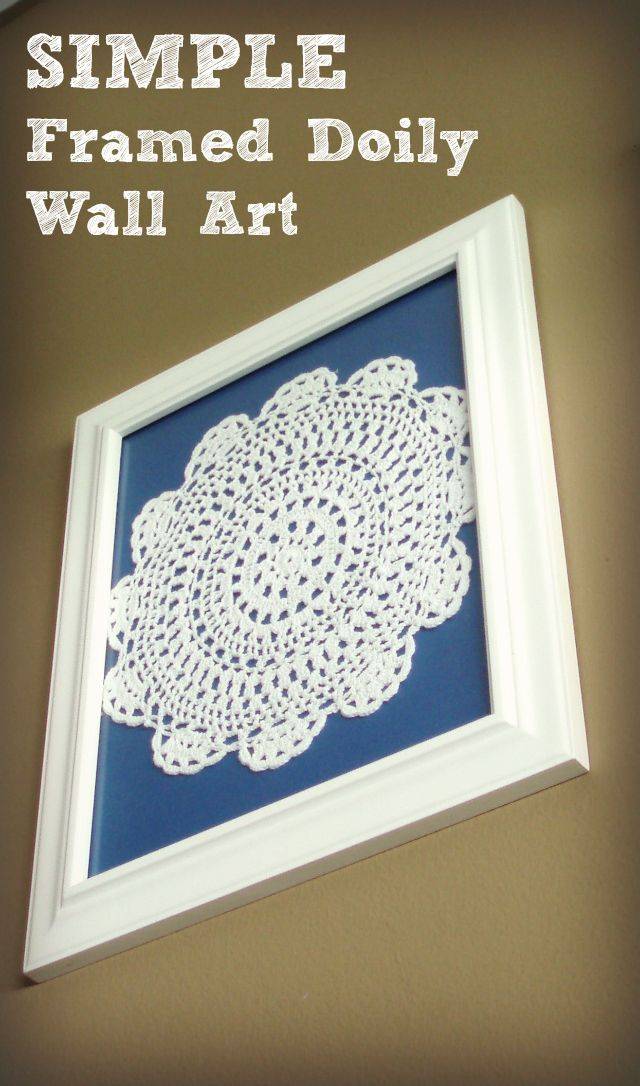 Crafts With Doilies Pinterest