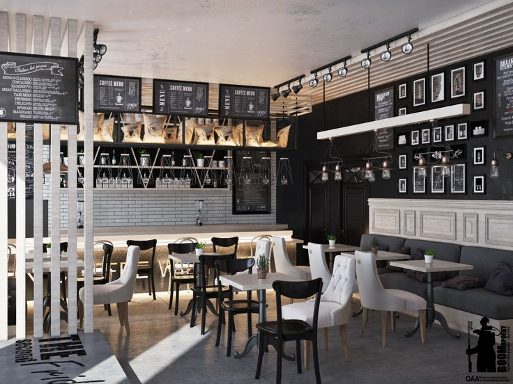 Loft cafe in Odessa.