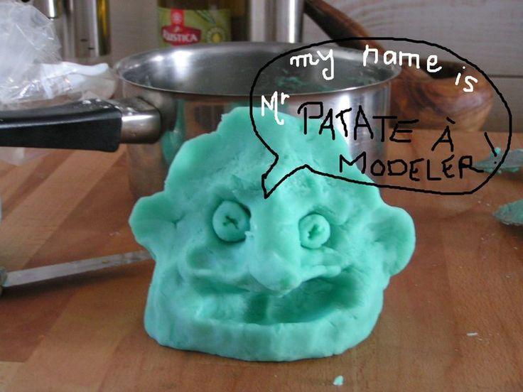 recette pâte à modeler