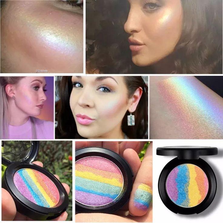 iluminador arco iris - rainbow highlighter - pronta entrega