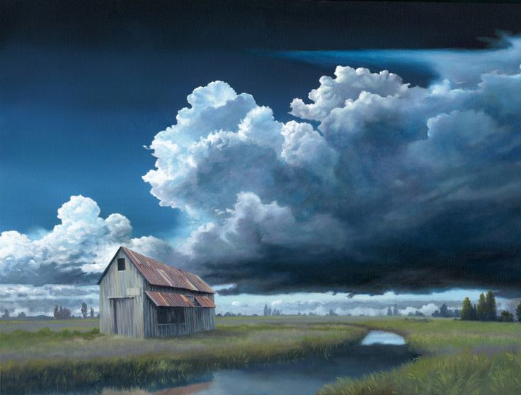 Call of the Clouds Exhibit: Andy Eccleshall: Heavy Cloud No Rain