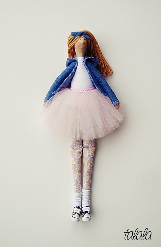 Unikatowe lalki dekoracyjne