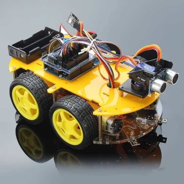 Multifunction Bluetooth Controlled Robot Smart Car Kits For Arduino  Worldwide delivery. Original best quality product for 70% of it's real price. Buying this product is extra profitable, because we have good production source. 1 day products dispatch from warehouse. Fast & reliable...