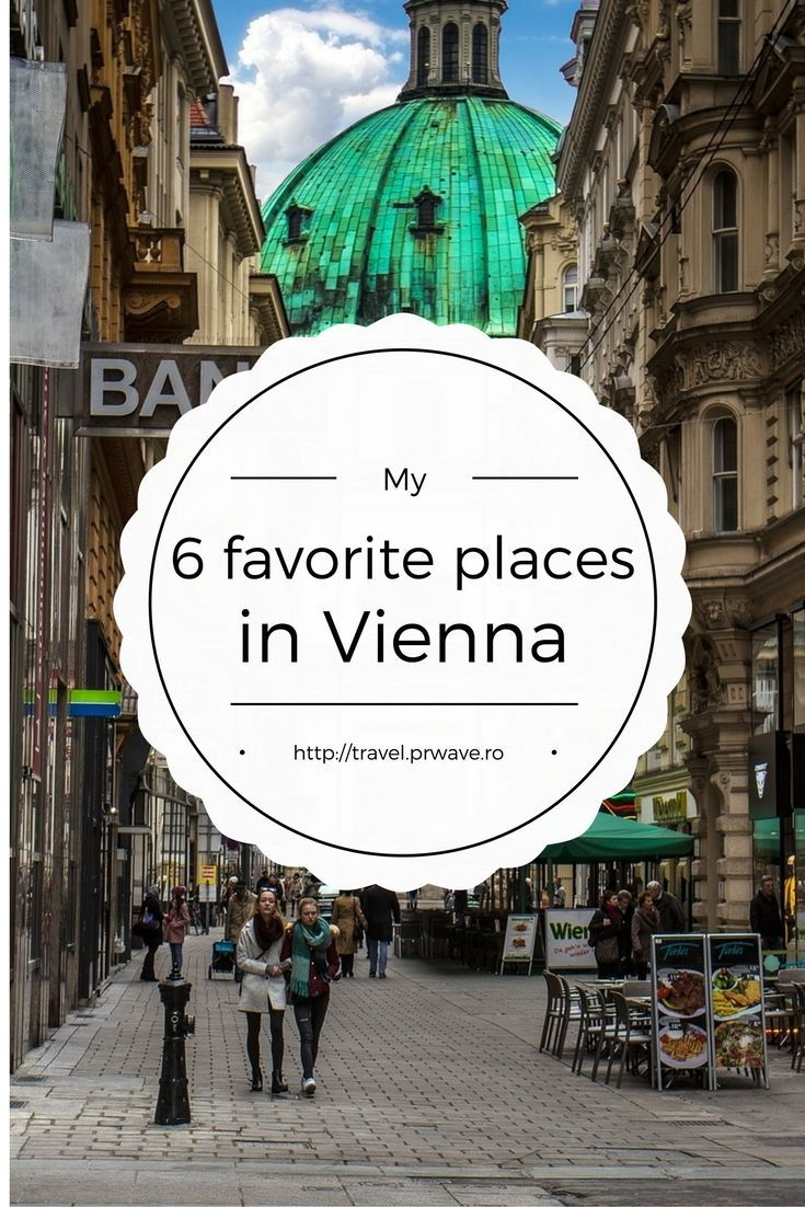 6 favourite places in Vienna