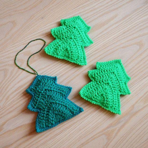 Christmas tree  PDF Crochet Christmas tree pattern by Kandiana