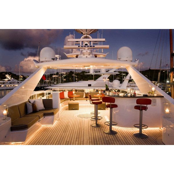 Blind Date Yacht Elite Yacht Charters Mediterranean Caribbean yacht... ❤ liked on Polyvore featuring luxury