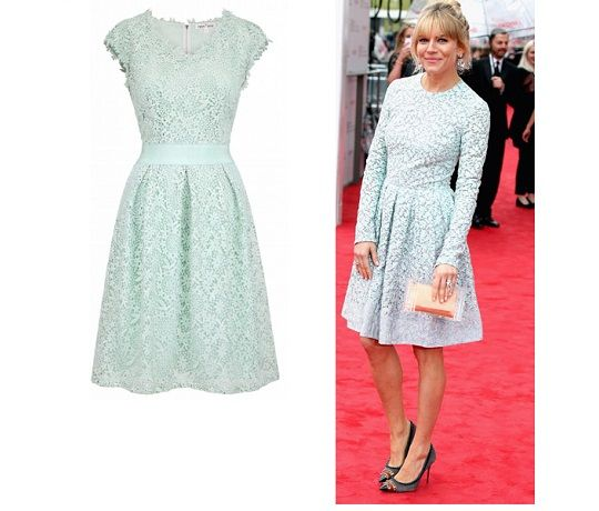 Ask the Stylist helps a reader find Sienna Miller's Mint Green dress for a wedding