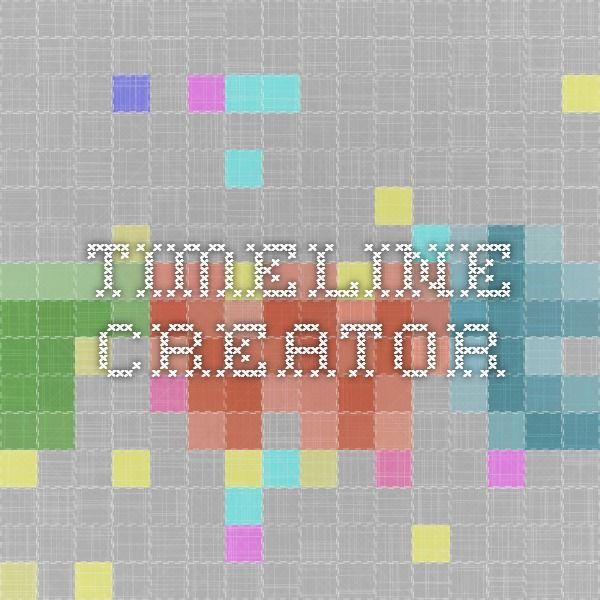 Excellent Timeline Creator from Read Write Think.