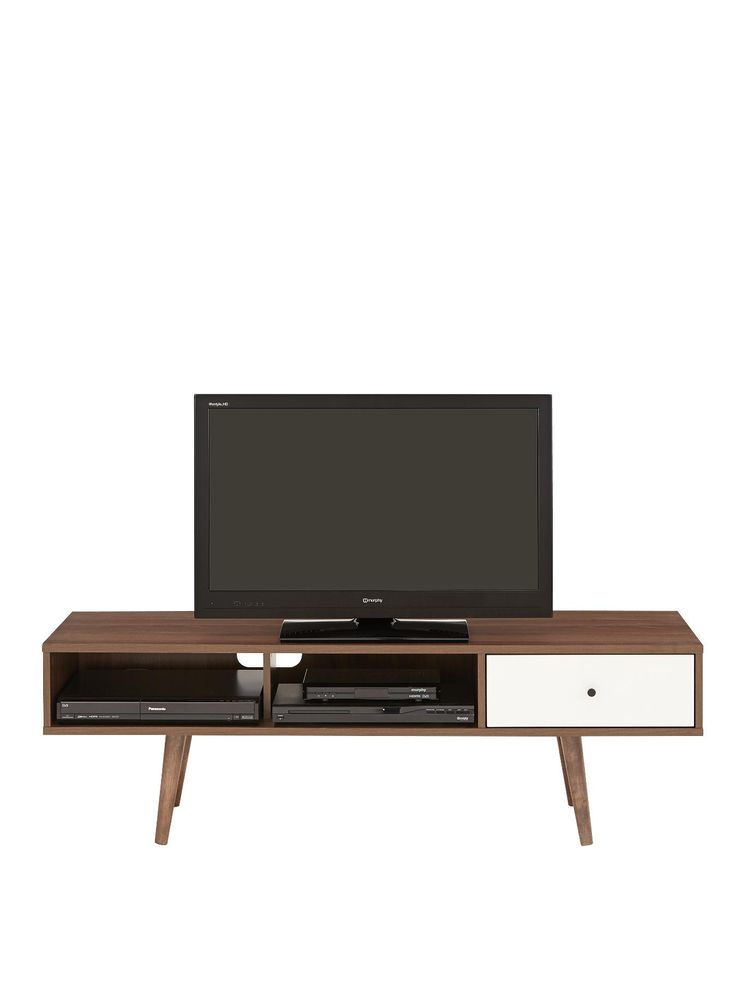 Retro Tv Units Uk Part - 23: Monty Retro TV Unit - Fits Up To 60 Inch TV | 60 Inch Tvs, TV Unit And Television  Stands