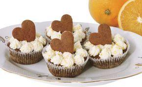 Kristinas pepparkaksmuffins med apelsinfrosting
