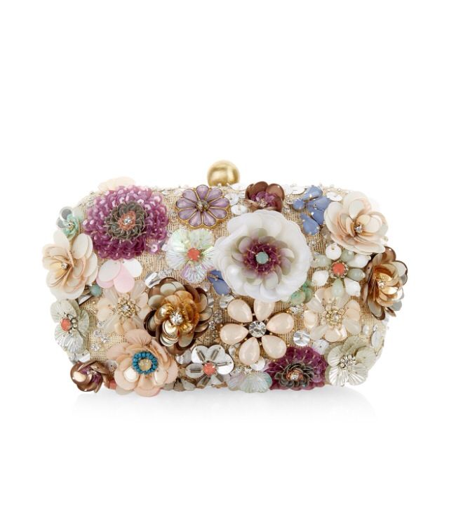 Accesorize embellished clutch