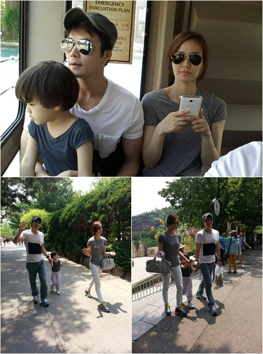 Kwon Sang Woo's Family Spotted Enjoying Some Family Time ~ I just LOVE his sweet little family. ^_^ Oh my goodness. <3 feels. =''''}