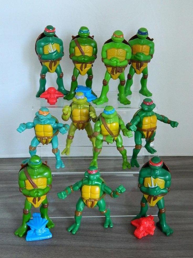 McDonalds Happy Meal Toys Bundle/Job Lot - TMNT Mutant Ninja Turtles Figures x11  | eBay