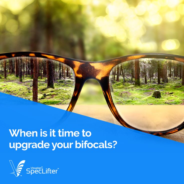 Time is ticking, and it's time for you to change those old bifocals. Learn about when you should upgrade your bifocals.