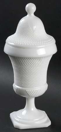 Smith Glass Tiny Hobnail-Milkglass at Replacements, Ltd
