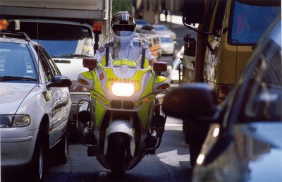 NSW Ambulance Service Motorcycle Unit