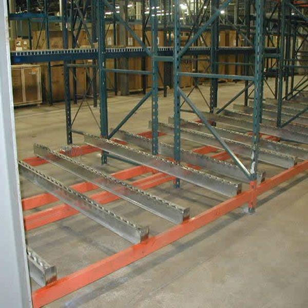 Used Pallet Flow Rack