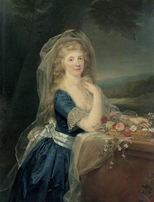 Anna Pieri Brignole Sale, by Anton von Maron