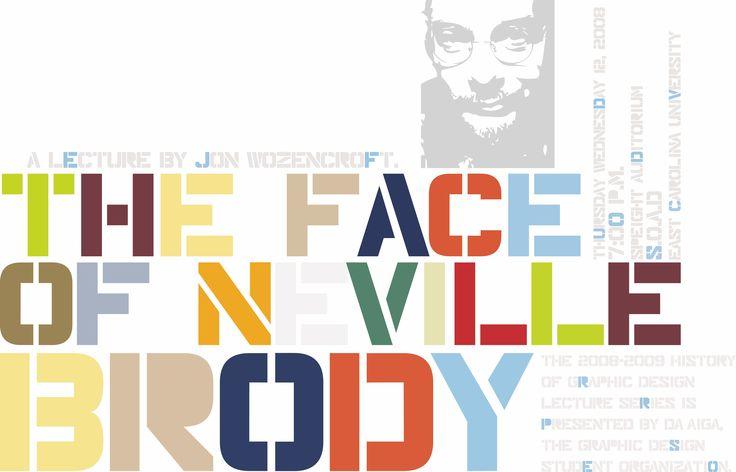 Typographic genius: Neville Brody