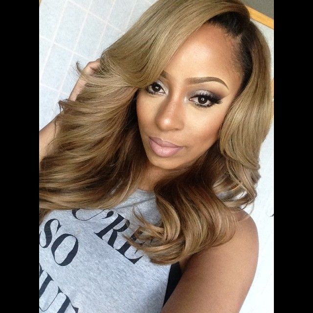 Ombre Hair Color for Black Women (90)