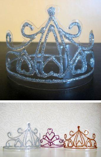 Tutorial para hacer coronas transparentes. - Ideas y material gratis para fiestas y celebraciones Oh My Fiesta!