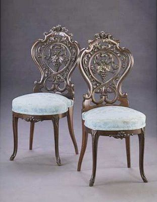 ornate chairs