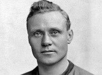 Dicky Bond(1883-1955). England Caps 8(1905-10),Goals 2—Bradford City, Preston North End. Outside - Right.