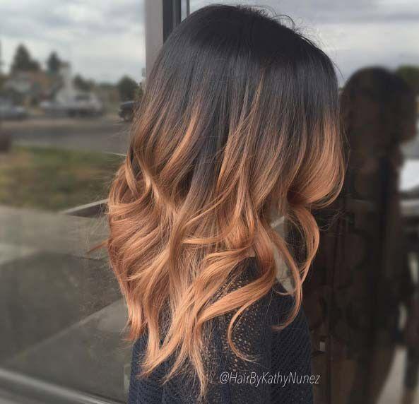 strawberry blonde ombre by Kathy Nunez