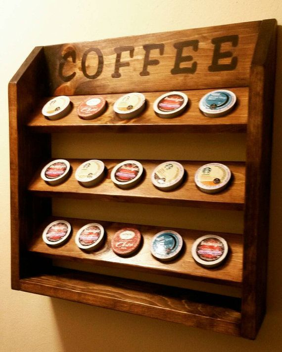 27 Best Coffee Capsule Rack Images On Pinterest