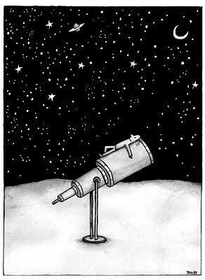 Dibujo de Troche. Get lost in the universe