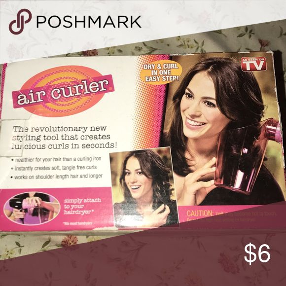 Air curler New aircurler with instructions, I have natural curly hair so I never used it. air curler Other