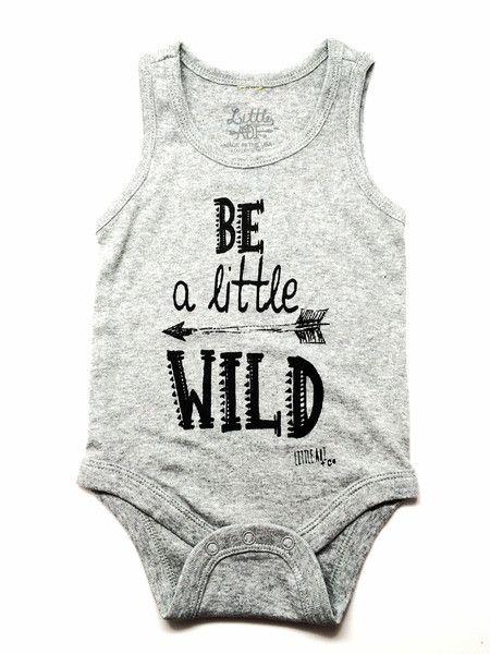 "Infant ""Little Wild"" Tank Onesie – Little Adi + Co."