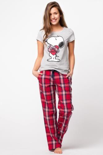 Snoopy Pijama Takımı