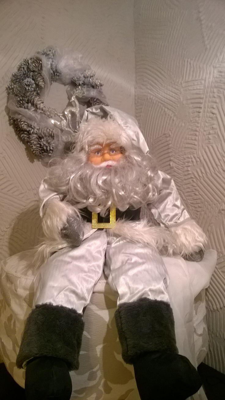 Christmas  Santa decorating