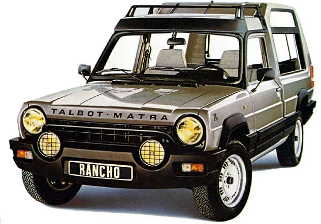 The Matra Rancho tried to look like a frugal Range Rover but on the street it looked like a pickup with some weird camper shell. I guess it could be described as a cross-over vehicle before we knew what as cross-over was. But it was only FWD so any pretensions of being an off-roader were just that.